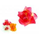 groothandel Kunstbloemen: Rose flower  kopstoot tegen de borst 12 cm