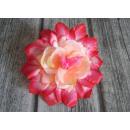 wholesale Cremes: Flower head 18 cm dahlia - pink-cream