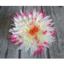 wholesale Cremes: Head flower floral dahlia jagged cream