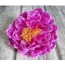 wholesale Artificial Flowers: Flower head product peony large 20 cm - violet
