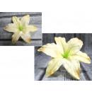 Główka wyrobowa lilia śr. 18 - newlemon - żółta -