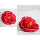mayorista Ayudantes de cocina: La cabeza de una pieza, hecha a mano, rosa intensa