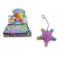 nagyker Dekoráció: Pasztell horgolt játék, 7,5 cm-es gumi csillag