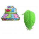 Crochet pastel, jouet souris en caoutchouc 8x4 cm