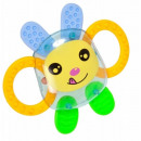 wholesale Baby Toys: Rattle, teether rabbit bam bam on a blister 21x1