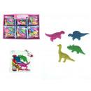 Gumiszalagok a dinoszauruszok 4 elem csiszolásához