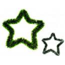 nagyker Otthon és dekoráció: A zöld csillag lánc 28 cm