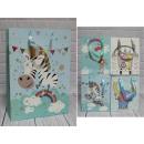 H sacchetto regalo animali 42x31x12 cm - 1 pezzo