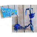 Scooter 3 roues pour enfants (bleu, rose)