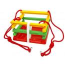 grossiste Jeux de jardin: balançoire en plastique avec une bande