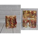J Confezione regalo natalizia 17x14x7,5 cm