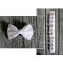 wholesale Business Equipment: K. bow on the decorative clip white communion 6x