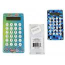 Mini kézi számológép, zseb, labirintusokkal