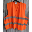 wholesale Working clothes: Reflective vest thick - orange - l / xl
