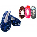 wholesale Shoes: Ballet slippers in flowers 24 cm