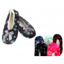 wholesale Shoes: Ballet slippers in snowflakes 24 cm