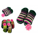 wholesale Shoes: Bamboo slippers  socks with warmer straps dz