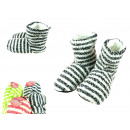 wholesale Shoes: Slippers, striped bamboos, winter, mega warm