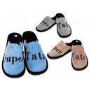 Pantofole da uomo T. con iscrizioni polacche super