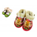 wholesale Shoes: Slippers put mega  warm animals 18-23 children