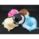 Großhandel Gürtel: Frauen-Hut mit einem Gurt 37 cm