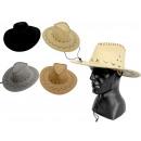 Cappello da uomo in camoscio 37 cm