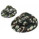ingrosso Ingrosso Abbigliamento & Accessori: Cappello mimetico colore misto 38x33 cm - 1 pezzo