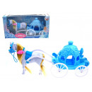 Carriage, horse  carriage, blue horse, iceberg