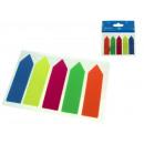Adesivi autoadesivi, con colla, etichette fluo