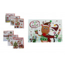 wholesale Coats & Jackets: Christmas card with square mix envelope, rectangle