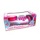 Registratore di cassa cassa rosa 30x16x13 cm