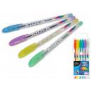 stylos gel de KIDE avec des paillettes 6 couleurs