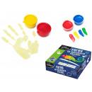peinture doigt KIDE 4 couleurs