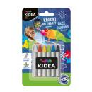 Crayons pour le visage Kidea 6 couleurs