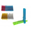 wholesale Laundry: Clips for washing, for underwear 6.5 cn - set of 2