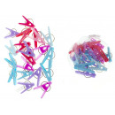 Großhandel Wäsche: Clips Kunststoff waschen 5,5 cm Satz von 20 Stück