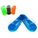 Medencecipő, műanyag masszázs szín