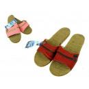 wholesale Shoes: Women's summer  slippers, linen beach 36-40