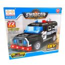 Großhandel Modelle & Fahrzeuge: Das Polizeiauto swatcop 72 Elemente