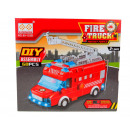 Großhandel Bausteine & Konstruktion: Das Feuerwehrauto blockiert 60 Elemente in einem K