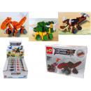 grossiste Fournitures de bureau equipement magasin: Blocs de dinosaures dans une boîte en ...