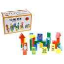 Wooden blocks in a carton 120 element 1300g