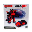 nagyker Játékok: Szerkezeti blokkok robot / auto 2in1 alkotó lele b
