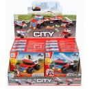 wholesale Toys: Construction blocks guard 53 element mix 14x14x4
