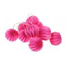 groothandel Verlichting: LED-lampje gaat  branden 10 papierkunst - roze