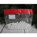 Großhandel Beads & Charms: 12 mm weiße Perlen Perlen 100g