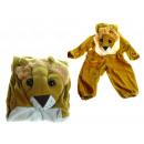 groothandel Verkleden & feestkleding: Veranderen kostuum leeuw kinderen (s, m, l)