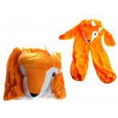 groothandel Verkleden & feestkleding: Veranderen vos pak kinderen (s, m, l)