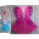 wholesale Toys: Costume, butterfly costume 4 element skirt + headb