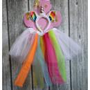 wholesale Toys: Costume, rainbow unicorn dress 2 element of the sk